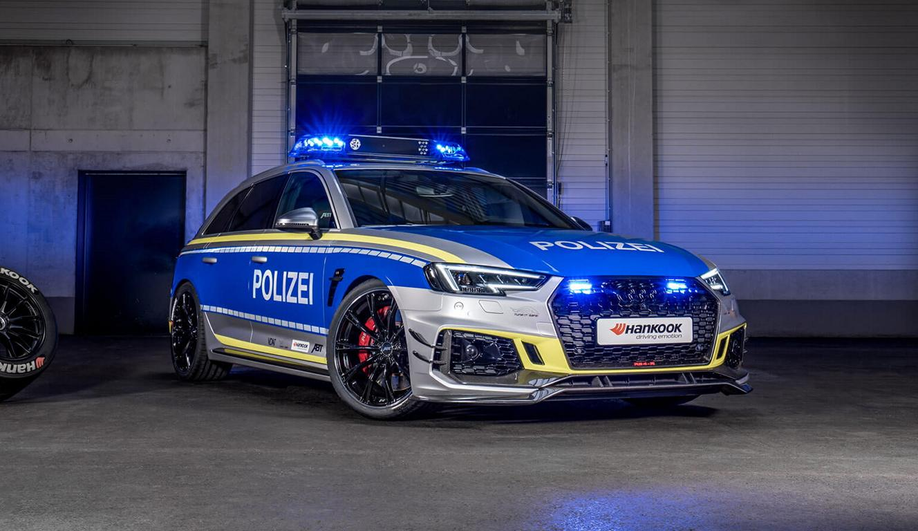 2019 Audi RS4 TUNE IT SAFE Polizeiauto EMS Tuning Header 2019 im Audi RS4   TUNE IT! SAFE! Polizeiauto zur EMS!