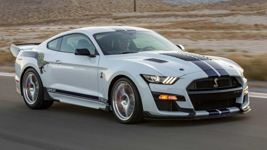 2020 Ford Mustang Shelby GT500 Dragon Snake Tuning 3 +800 PS Monster   Shelby American GT500 Dragon Snake
