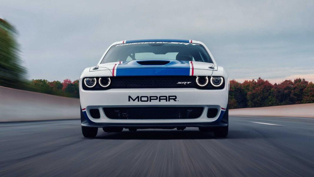 Quarter Mile 2020 Mopar Dodge Srt Challenger Drag Pak