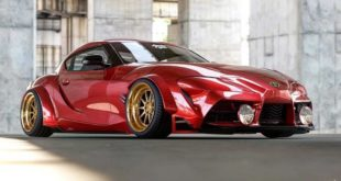 2020 Toyota Supra Widebody Rendering Ambielec Design Tuning 7 310x165 Mustang Mach E GT Widebody Shorty   warum nicht?