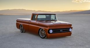 450 PS Chevrolet E 10 Restomod Tuning SEMA E Antrieb 1 310x165 Bad Boy   Ford F 100 Pickup Restomod mit 5.2 Liter V8