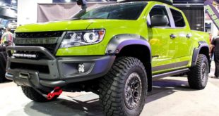 AEV350 Chevrolet Colorado ZR2 Bison SEMA 2019 Tuning Header 310x165 Video: Baja Prerunner Porsche 911 Carrera 4 Cabriolet