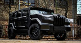 Dartz Prombron Black Stallion SUV Tuning 1 310x165 Brutal   Dartz Prombron Black Stallion SUV aus Hollywood