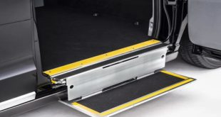 Boarding aid entry level wheelchair ramp Taxi Camper 310x165 Targeted navigation for the car for retrofitting!