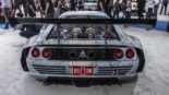Ferrari F355 BiTurbo Widebody SEMA Button Built BB355TT 13 155x87 +600 PS Ferrari F355 BiTurbo Widebody zur SEMA 2019