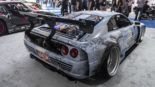Ferrari F355 BiTurbo Widebody SEMA Button Built BB355TT 5 155x87 +600 PS Ferrari F355 BiTurbo Widebody zur SEMA 2019