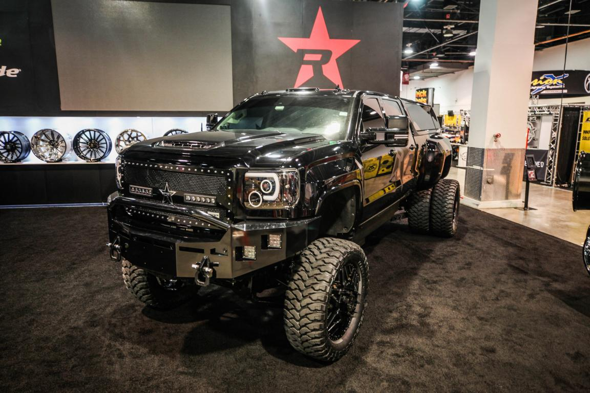 GMC Sierra Rolling Big Power Dieselbrothers Tuning SEMA 4 Big Boy GMC Sierra von Rolling Big Power & Dieselbrothers