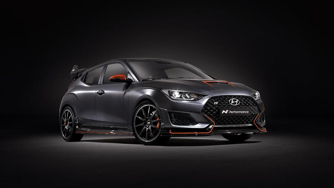 Hyundai Veloster N Performance Concept Car Tuning SEMA 1 Hyundai Veloster N Performance Concept Car mit 275 PS