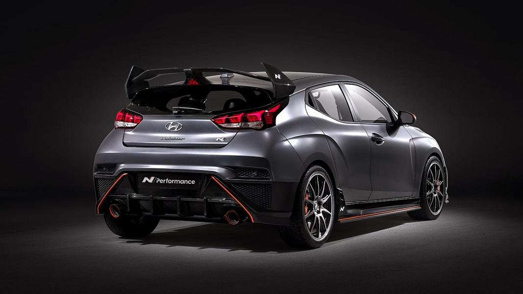 Hyundai Veloster N Performance Concept Car Tuning SEMA 5 Hyundai Veloster N Performance Concept Car mit 275 PS