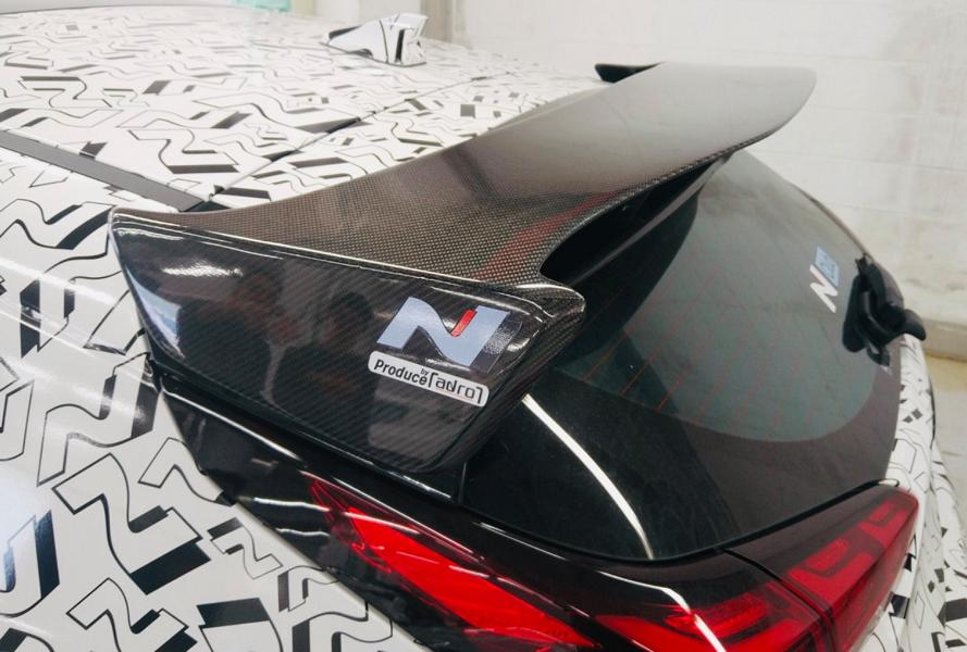 Hyundai Veloster N Performance Concept Car Tuning SEMA 7 Hyundai Veloster N Performance Concept Car mit 275 PS