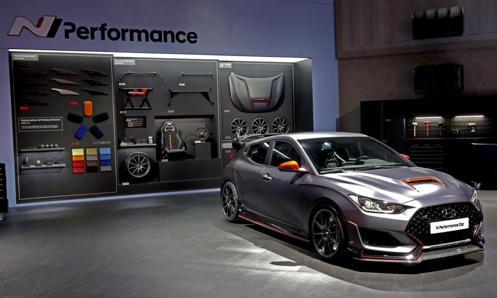 Hyundai Veloster N Performance Concept Car Tuning SEMA 8 Hyundai Veloster N Performance Concept Car mit 275 PS