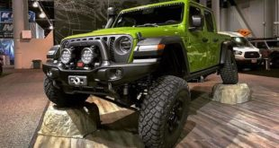Jeep Gladiator AEV350 Tuning SEMA Header 310x165 Video: Baja Prerunner Porsche 911 Carrera 4 Cabriolet