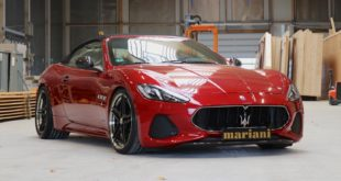 Maserati GranCabrio mariani Tuning Header 310x165 Video: Drag race   500 PS Toyota Supra vs. Tesla Mode 3