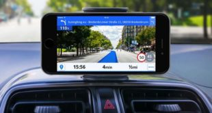 Navigation device% C3% A4t GPS news% C3% BCsten Tuning Smartphone 310x165 license plate in carbon design from autoschild buy.de