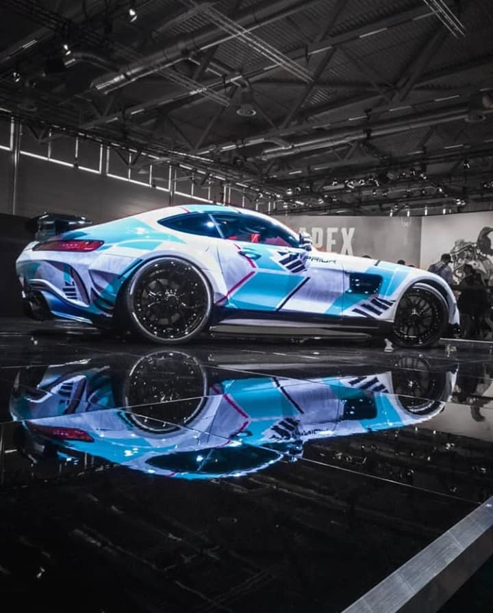 Need for Speed PD700GTR Mercedes AMG GT S Gamescom Prior Tuning 7 Need for Speed Style am PD700GTR Mercedes AMG GT S