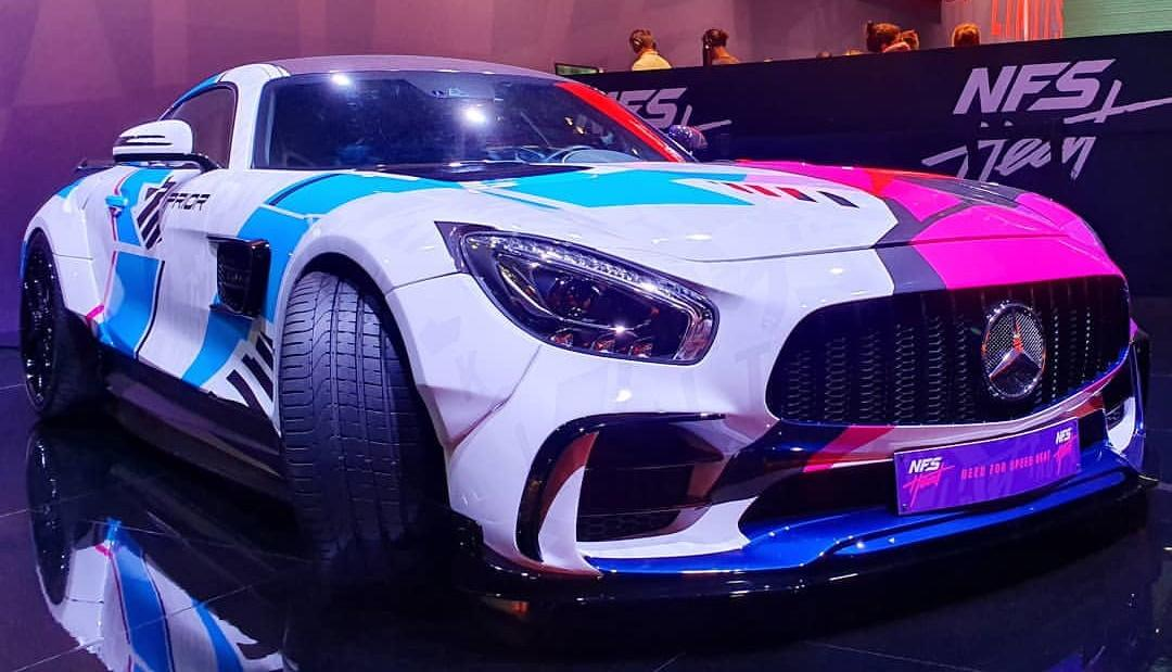 Need for Speed PD700GTR Mercedes AMG GT S Gamescom Prior Tuning Header Need for Speed Style am PD700GTR Mercedes AMG GT S