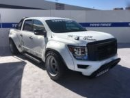 Pandem Widebody Kit 2020 Nissan Titan Pickup Tuning SEMA 2019 12 190x143 Pandem Widebody Kit am 2020 Nissan Titan Pickup