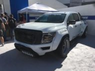 Pandem Widebody Kit 2020 Nissan Titan Pickup Tuning SEMA 2019 13 190x143 Pandem Widebody Kit am 2020 Nissan Titan Pickup