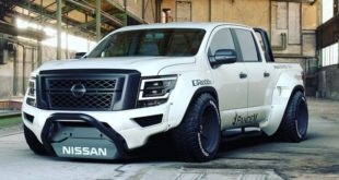 Pandem Widebody Kit 2020 Nissan Titan Pickup Tuning SEMA 2019 14 1 310x165 Pandem Widebody Kit am 2020 Nissan Titan Pickup