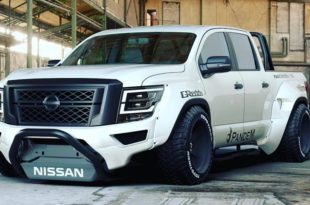 Pandem Widebody Kit 2020 Nissan Titan Pickup Tuning SEMA 2019 14 1 310x205 Pandem Widebody Kit am 2020 Nissan Titan Pickup