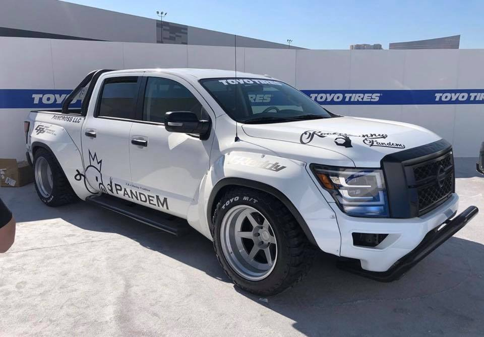 Pandem Widebody Kit 2020 Nissan Titan Pickup Tuning SEMA 2019 3 Pandem Widebody Kit am 2020 Nissan Titan Pickup