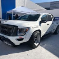 Pandem Widebody Kit 2020 Nissan Titan Pickup Tuning SEMA 2019 5 190x190 Pandem Widebody Kit am 2020 Nissan Titan Pickup