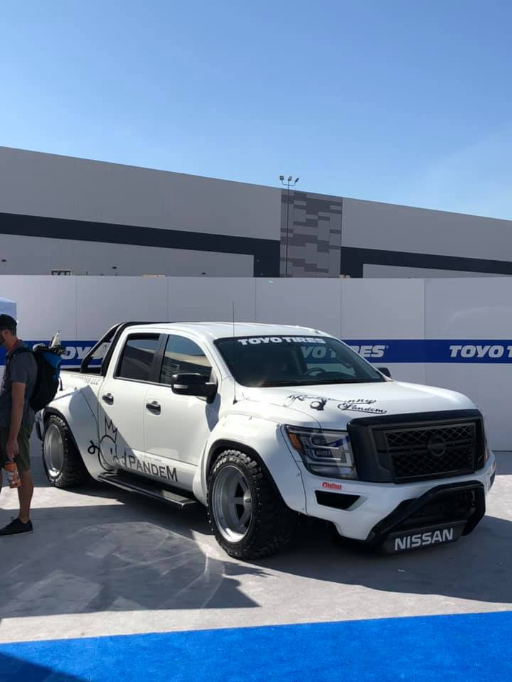 Pandem Widebody Kit 2020 Nissan Titan Pickup Tuning SEMA 2019 9 Pandem Widebody Kit am 2020 Nissan Titan Pickup