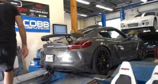 Porsche Cayman GT4 Turbo 310x165 Video: Porsche Cayman GT4 Turbo von mit 450 PS & 475 NM