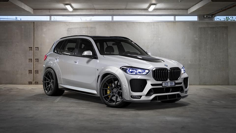 Renegade Design BMW X5 G05 Punisher Widebody Kit Tuning 1 Deutlich breiter: Renegade Design BMW X5 G05 Punisher