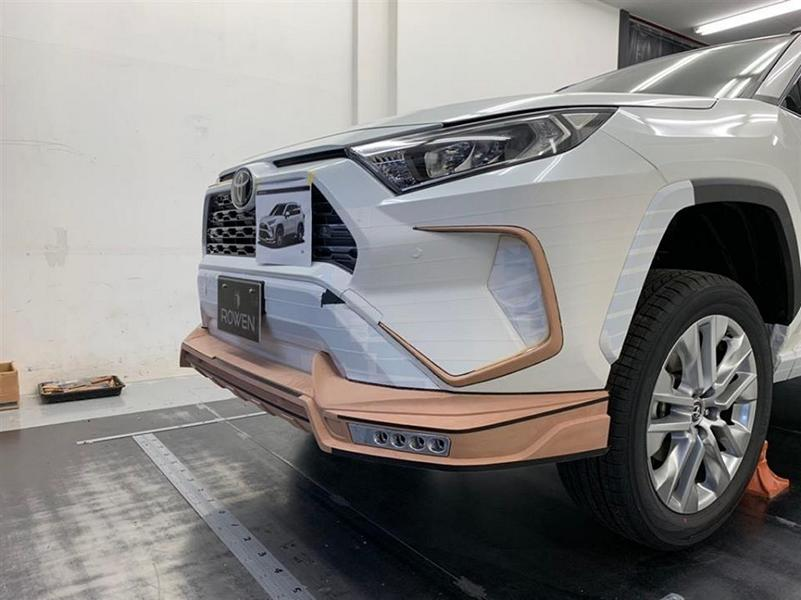 Rowen International Bodykit 2019 Tuning Toyota RAV4 5 Fertig: Rowen International Bodykit für den Toyota RAV4