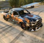 Toyota Tacoma TRD Widebody Forgeline Tuning Nascar V8 1 155x154 Toyota Tacoma TRD Widebody mit 900 PS zur SEMA