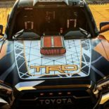 Toyota Tacoma TRD Widebody Forgeline Tuning Nascar V8 19 155x155 Toyota Tacoma TRD Widebody mit 900 PS zur SEMA