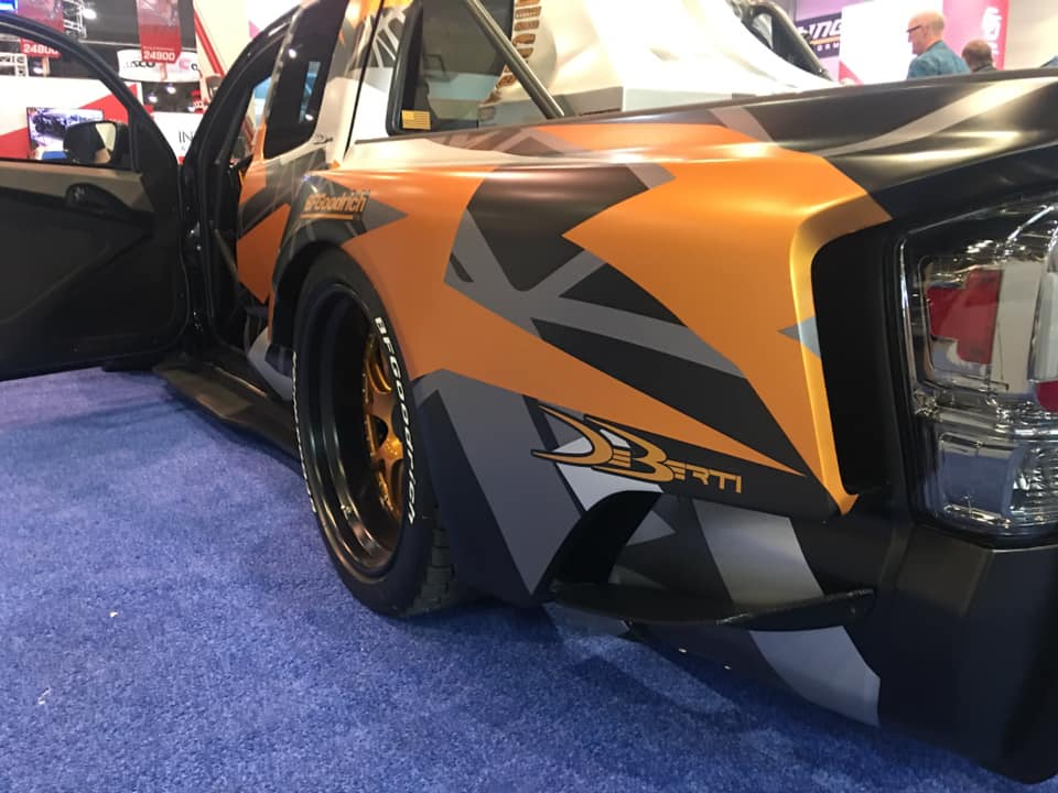 Toyota Tacoma TRD Widebody Forgeline Tuning Nascar V8 20 Toyota Tacoma TRD Widebody mit 900 PS zur SEMA