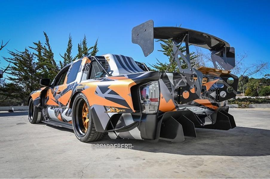 Toyota Tacoma TRD Widebody Forgeline Tuning Nascar V8 5 Toyota Tacoma TRD Widebody mit 900 PS zur SEMA