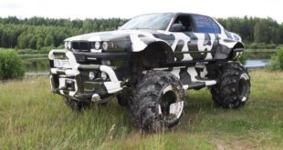 Valkyrie 766 Bonkers BMW 7er 4x4 Monster Truck Tuning Header 310x165 Make it bigger der Umbau zum Monstetruck!