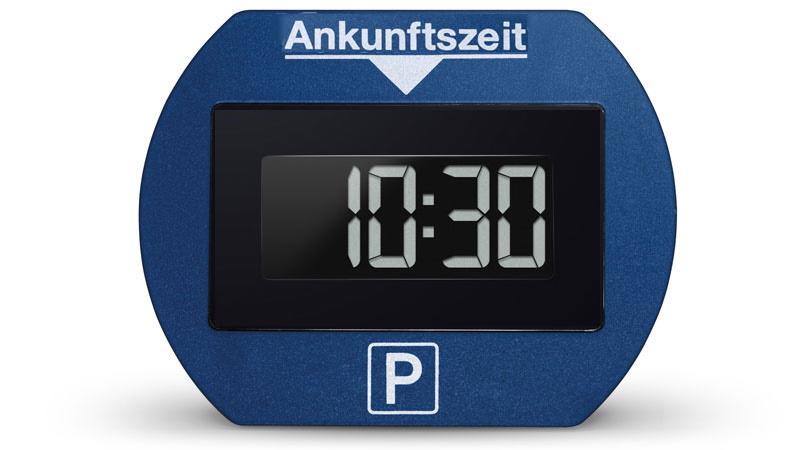 elektronische Parkscheibe digitale Parkuhr 2 Elektronische Parkscheibe   die Neuzeit der Parkuhr!