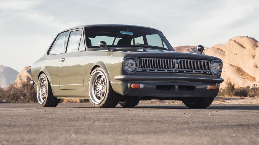 1969 Toyota Corolla Lexus V8 Everytimer Tuning 41 Clean und Stark: 1969 Toyota Corolla mit 420 PS Lexus V8