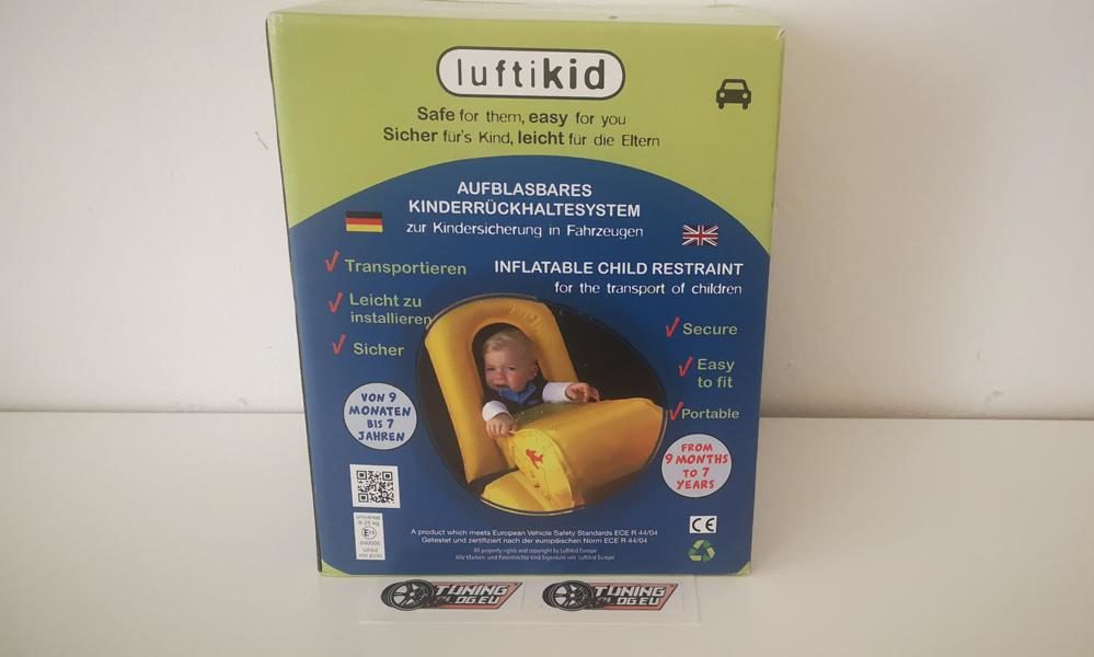 2019 Luftikid child restraint system test experience 1 e1577438858313 2019 Luftikid the child restraint system (child seat) in the test