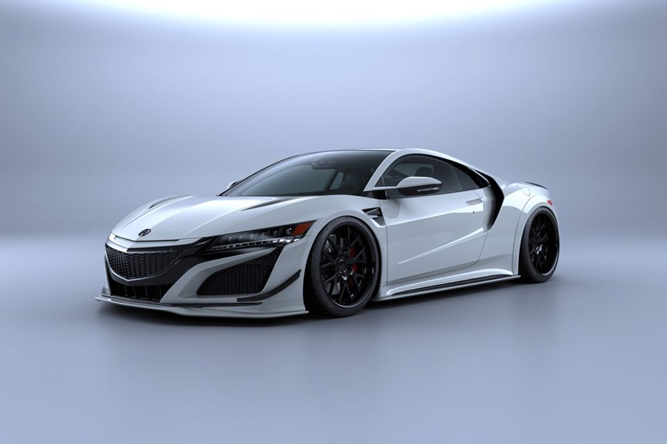 Artisan Spirits Black Label Bodykit Honda NSX Acura Tuning 1 Vorschau: Artisan Spirits Black Label Bodykit am Honda NSX