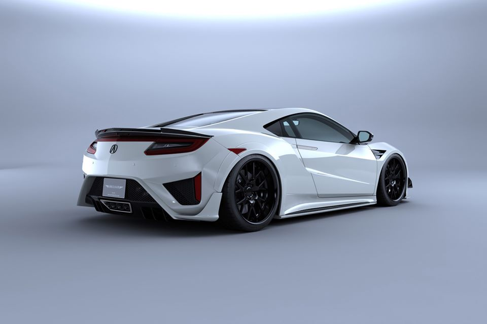 Artisan Spirits Black Label Bodykit Honda NSX Acura Tuning 2 Vorschau: Artisan Spirits Black Label Bodykit am Honda NSX