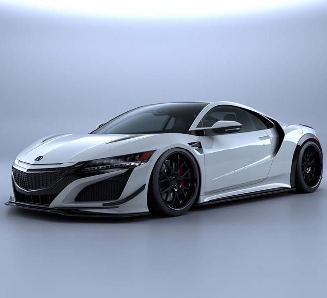 Artisan Spirits Black Label Bodykit Honda NSX Acura Tuning Vorschau: Artisan Spirits Black Label Bodykit am Honda NSX