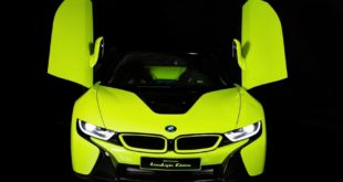 BMW i8 Roadster LimeLight Alcantara Unikat Tuning Italien 1 e1575532453842 310x165 Video: 2020 BMW i8 Roadster LimeLight Alcantara Unikat!