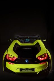 BMW i8 Roadster LimeLight Alcantara Unikat Tuning Italien 16 190x285 Video: 2020 BMW i8 Roadster LimeLight   Alcantara Unikat!