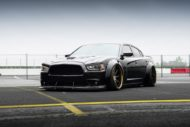 Dodge Charger Widebody F421 AG Wheels Tuning Rotora 1 190x127 Pechschwarz   Dodge Charger Widebody auf F421 Alus!