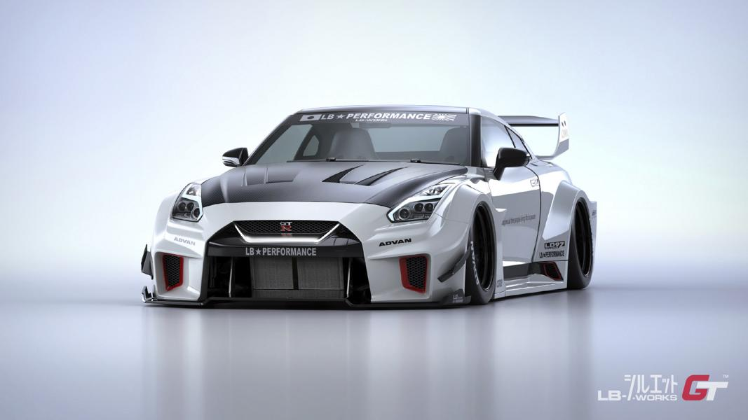 LB Silhouette WORKS GT Nissan 35GT RR Widebody Kit Tuning 1 LB Silhouette WORKS GT Nissan 35GT RR Widebody Kit