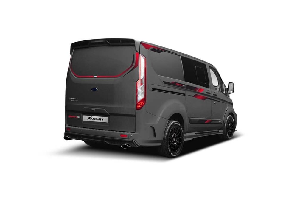 MS RT Ford Transit R185 Limited Edition Widebody Tuning 1 40 Stück   MS RT Ford Transit als R185 Limited Edition