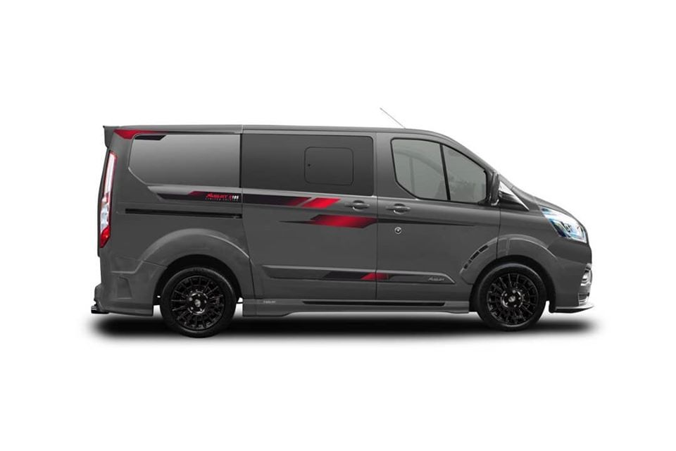 MS RT Ford Transit R185 Limited Edition Widebody Tuning 3 40 Stück   MS RT Ford Transit als R185 Limited Edition