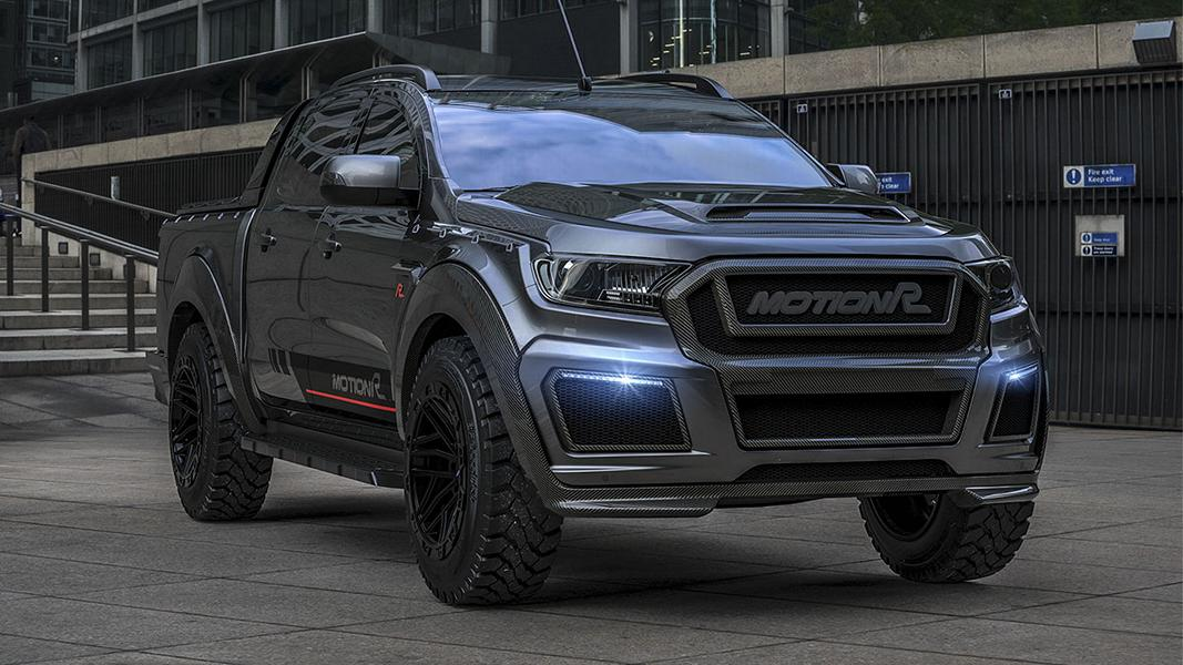 Motion R Ford Ranger Carbon Widebody Tuning 2020 1 Heftig: Motion R Ford Ranger Carbon Widebody geplant!