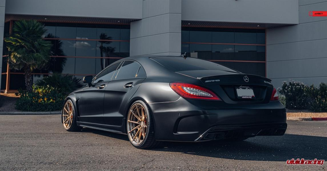 Widebody Mercedes CLS 63 AMG C 218 Prior PD550 Black Series Tuning 53 Widebody Mercedes CLS 63 AMG s (C 218) from Vivid Racing