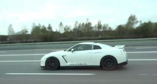 1200 HP AMS 12 Nissan GT R vs. Bugatti Veyron Vitesse 310x165 3.300 HP AMS Nissan GT R Alpha Queen mit Unfall!